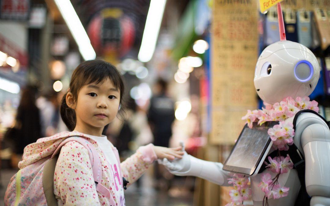 Des chercheurs, des enfants et un kit robotique