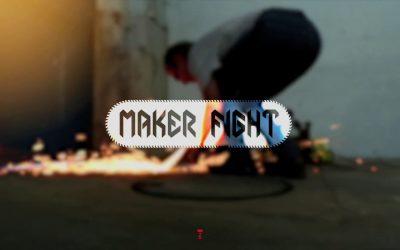Il était une fois un fablab makerspace et un combat de robots
