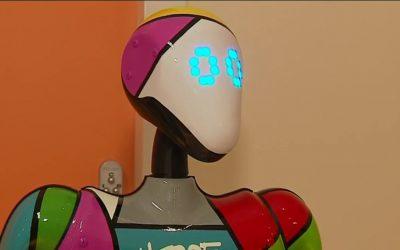HOPE, ce nouveau robot social au chevet d'enfants hospitalisés