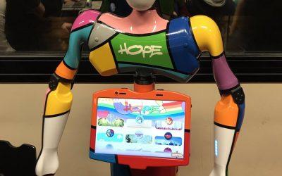 WHEEZHOPE, ce nouveau robot social au chevet d'enfants hospitalisés