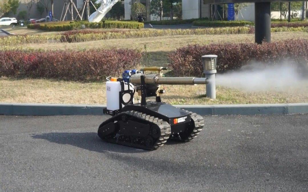 Covid 19 : pas de confinement pour les robots chinois !