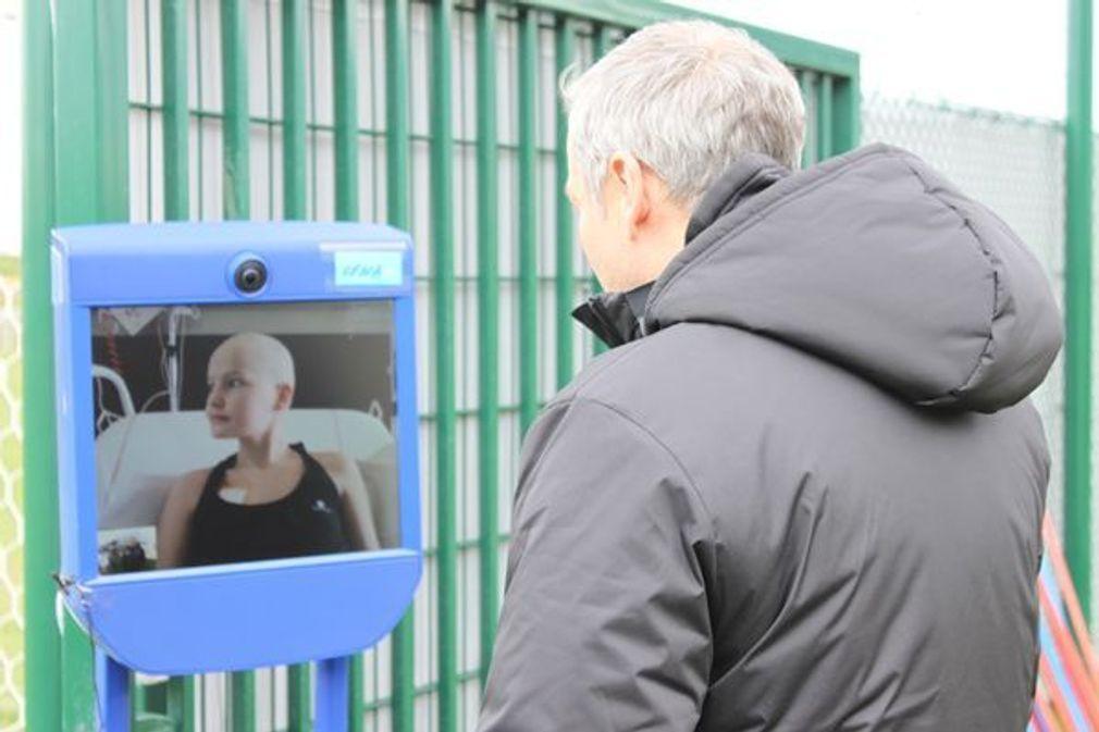 VIK-E, un robot de télé-présence à l'Institut d'Hématologie et d'Oncologie Pédiatrique de Lyon